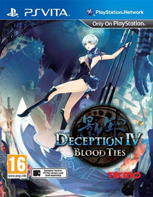 Deception IV Blood Ties PS Vita - PS Vita Játékok