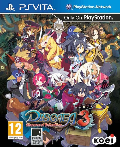 Disgaea 3: Absence of Detention Vita - PS Vita Játékok
