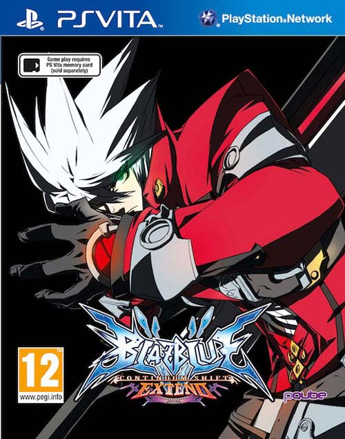 Blazblue Continuum Shift Extend - PS Vita Játékok