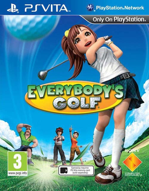 Everybodys Golf - PS Vita Játékok