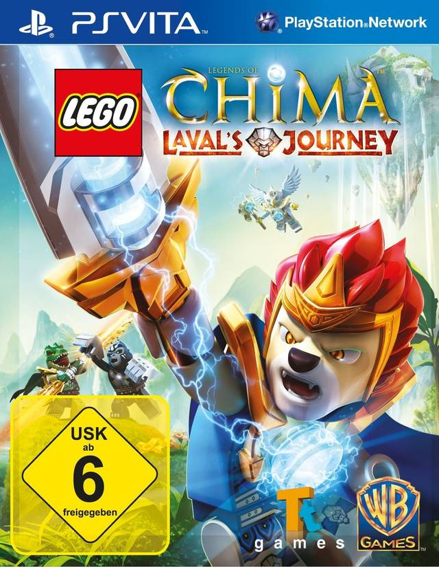 LEGO Legends of Chima: Lavals Journey - PS Vita Játékok