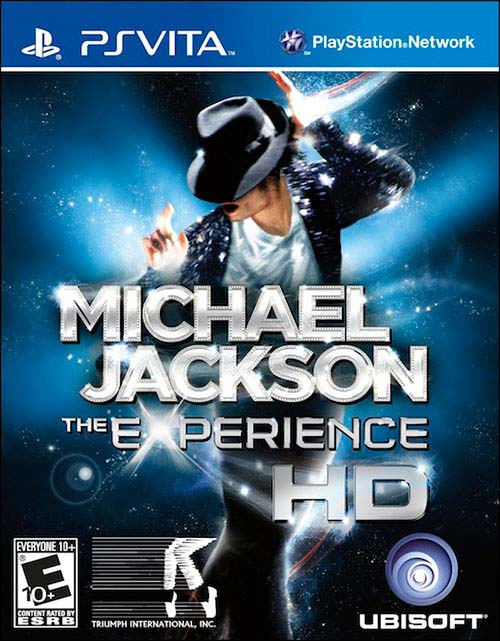 Michael Jackson The Experience HD - PS Vita Játékok