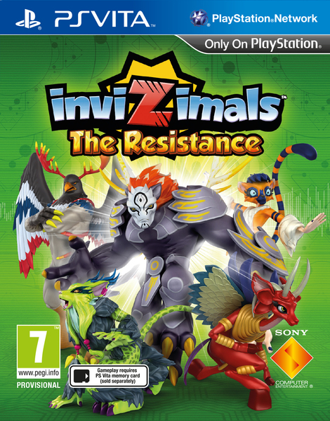 Invizimals The Resistance - PS Vita Játékok