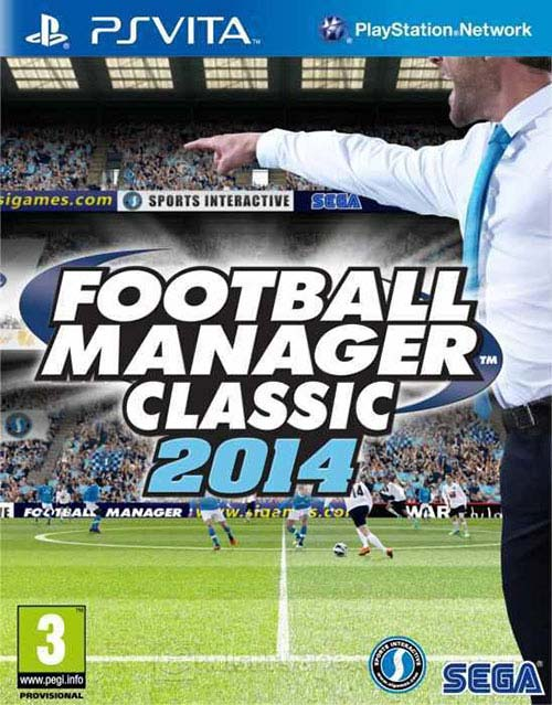 Football Manager Classic 2014 - PS Vita Játékok