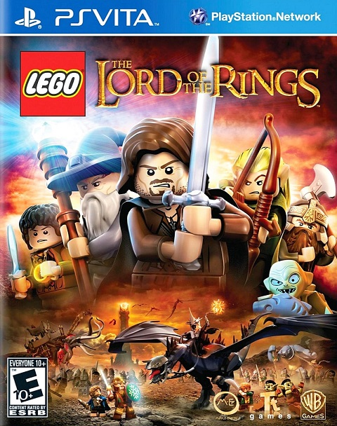 Lego Lord of the Rings The Video Game - PS Vita Játékok