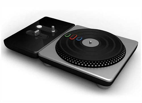 DJ Hero 1-2 Turntable Bundle