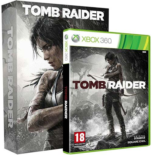 Tomb Raider Survival Edition - Xbox 360 Játékok