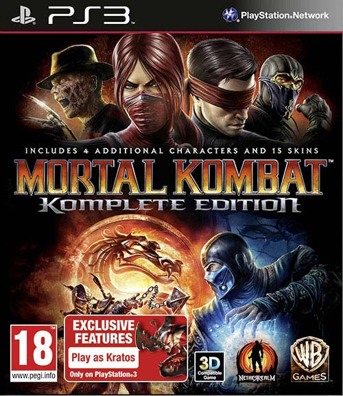 Mortal Kombat Komplete Edition - PlayStation 3 Játékok