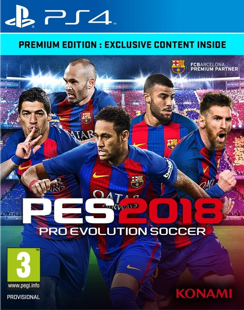 Pro Evolution Soccer 18 (PES 18) Premium Edition - PlayStation 4 Játékok
