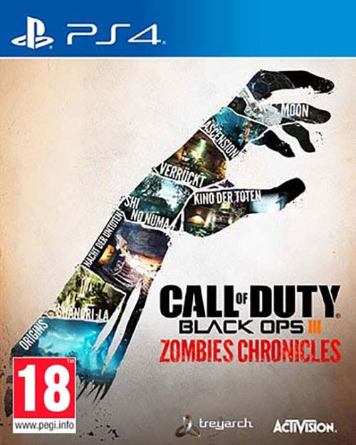 Call Of Duty Black Ops III Zombies Chronicles - PlayStation 4 Játékok