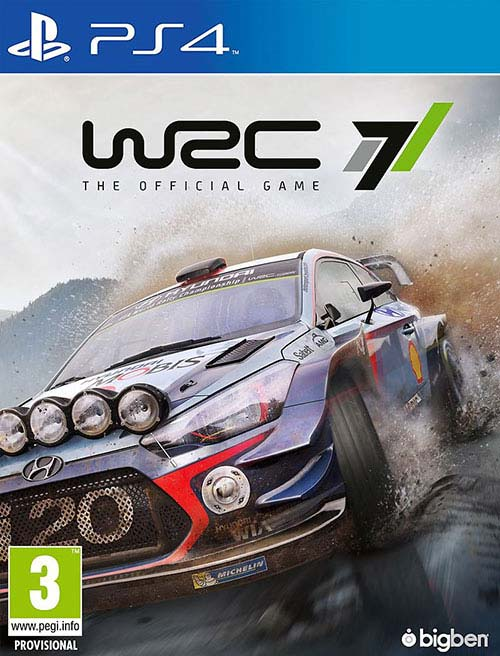World Rally Championship 7 WRC 7  - PlayStation 4 Játékok