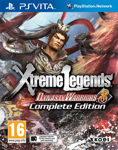 Dynasty Warriors 8 Xtreme Legends PS Vita
