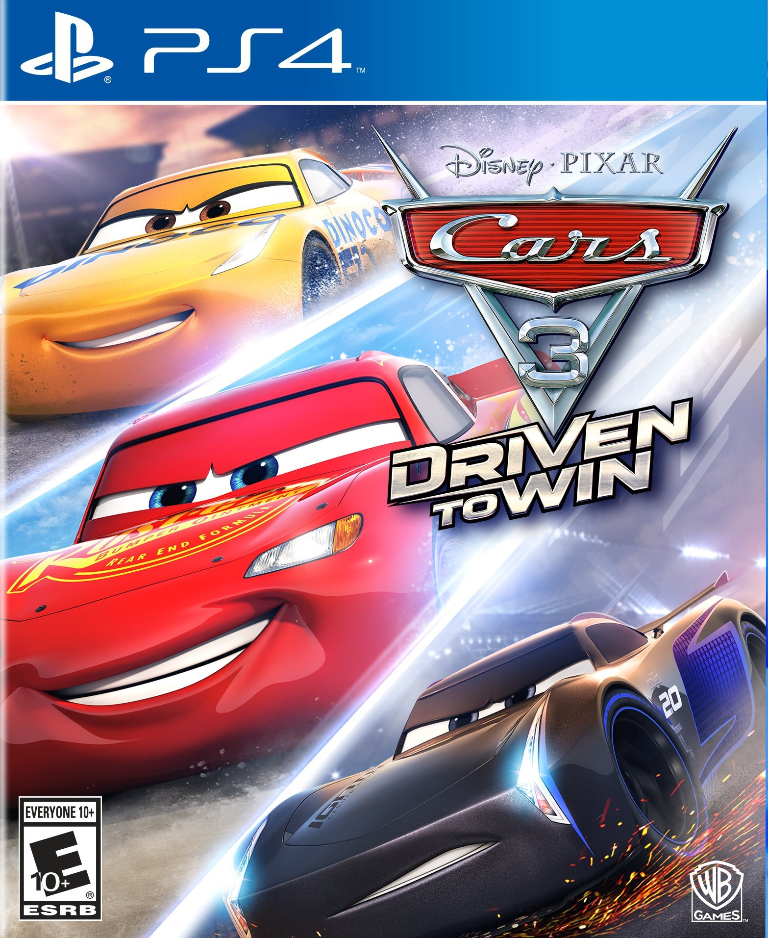 Disney Pixar Cars 3 Driven to Win - PlayStation 4 Játékok