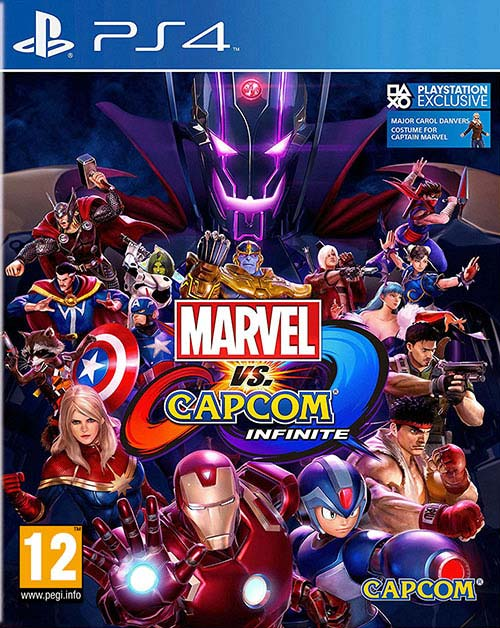 Marvel Vs Capcom Infinite - PlayStation 4 Játékok