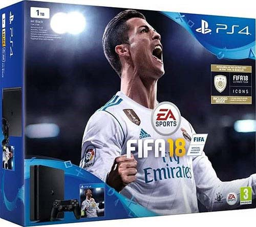 Sony Playstation 4 Slim 1TB Fifa 18 Bundle